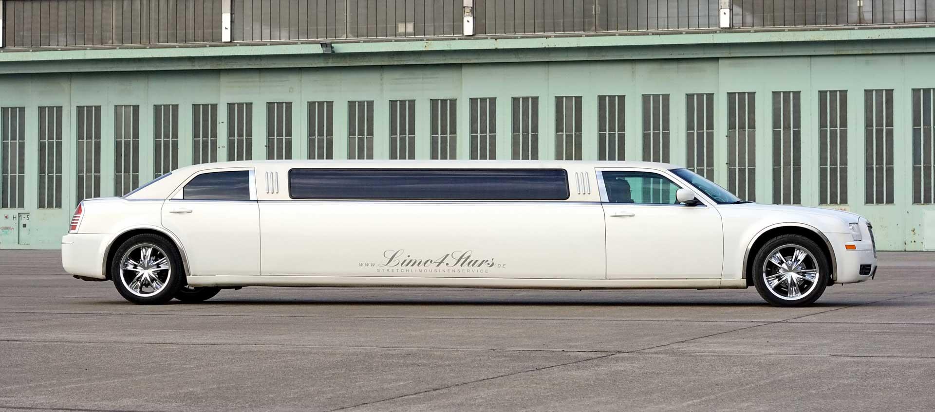 Miete eine edle Chrysler Limousine exklusiv in Berlin - Berlin Stretchlimos mieten